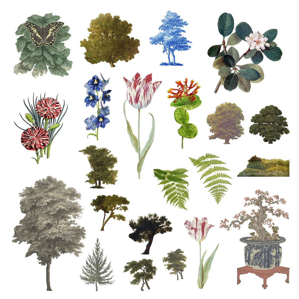 Vegetation Cutouts (45 PNGs)