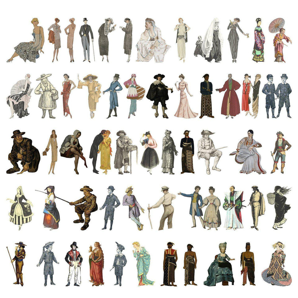 Characters Cutouts (155 PNGs)