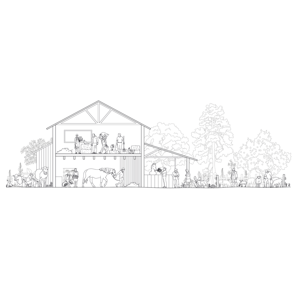 farm cad vector