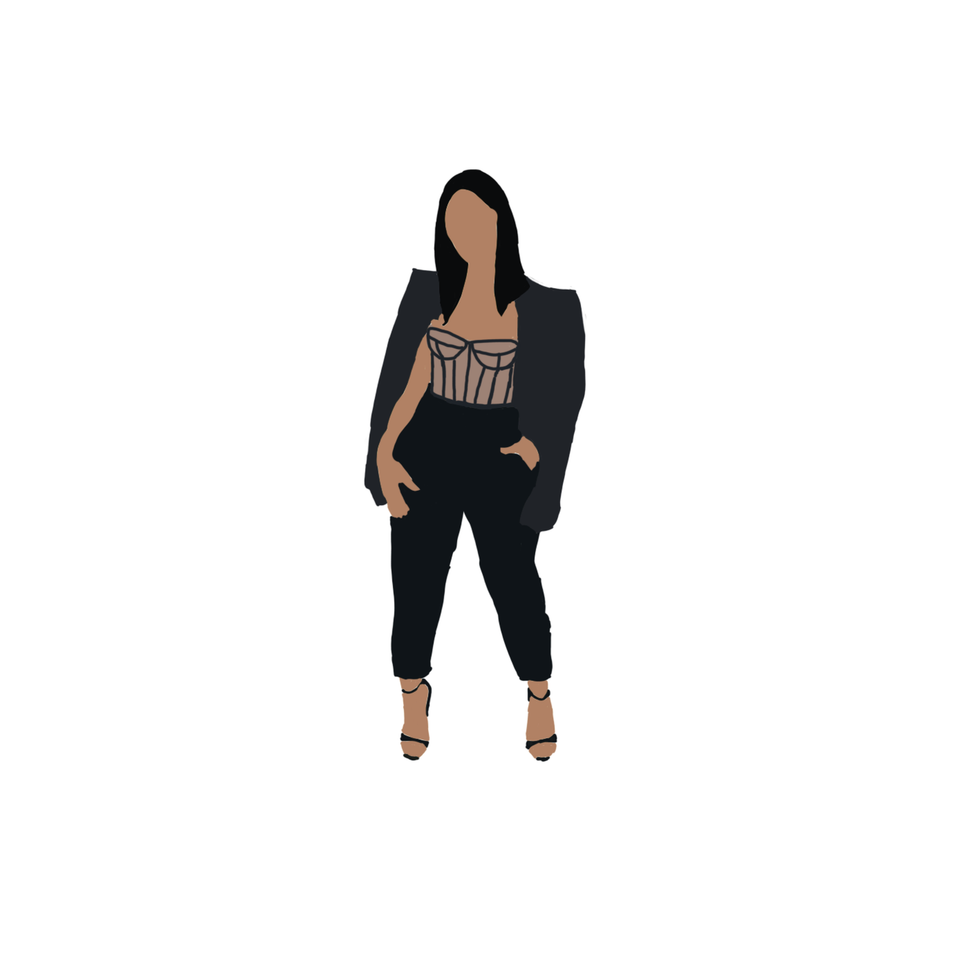brown woman png free