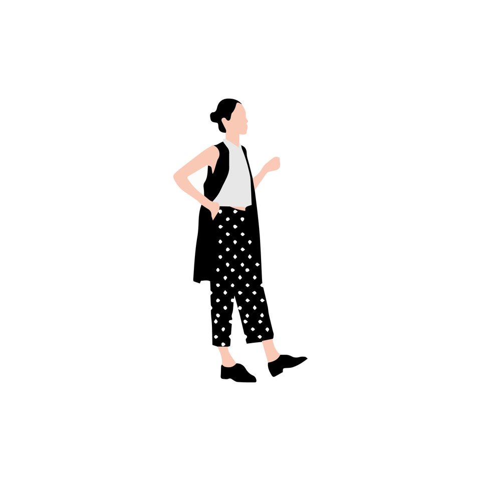 vector flat people