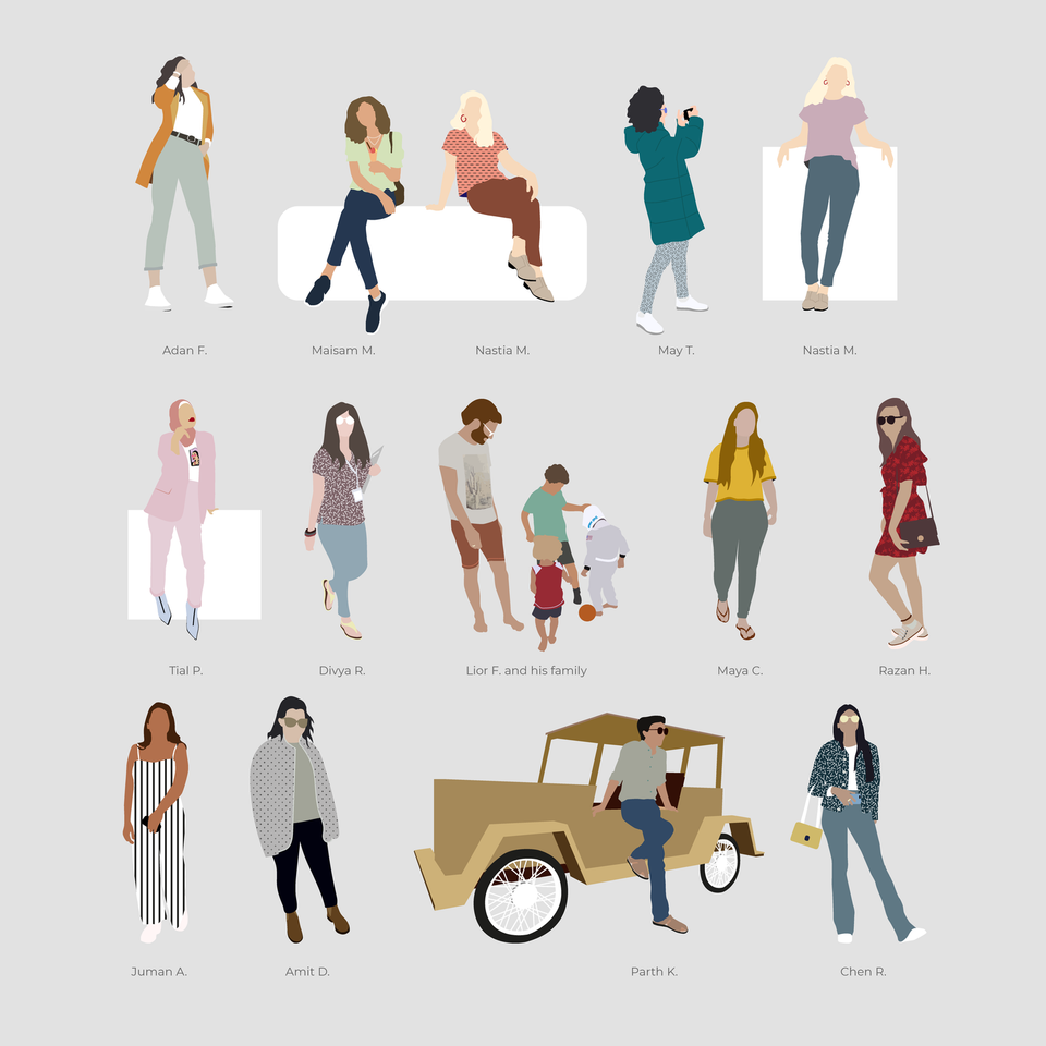 Vector People - YouCutout Set 02