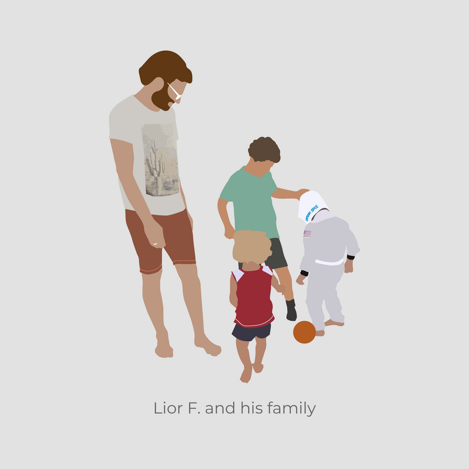 Youcutout - Lior's Family-Cutouts-Studio Alternativi