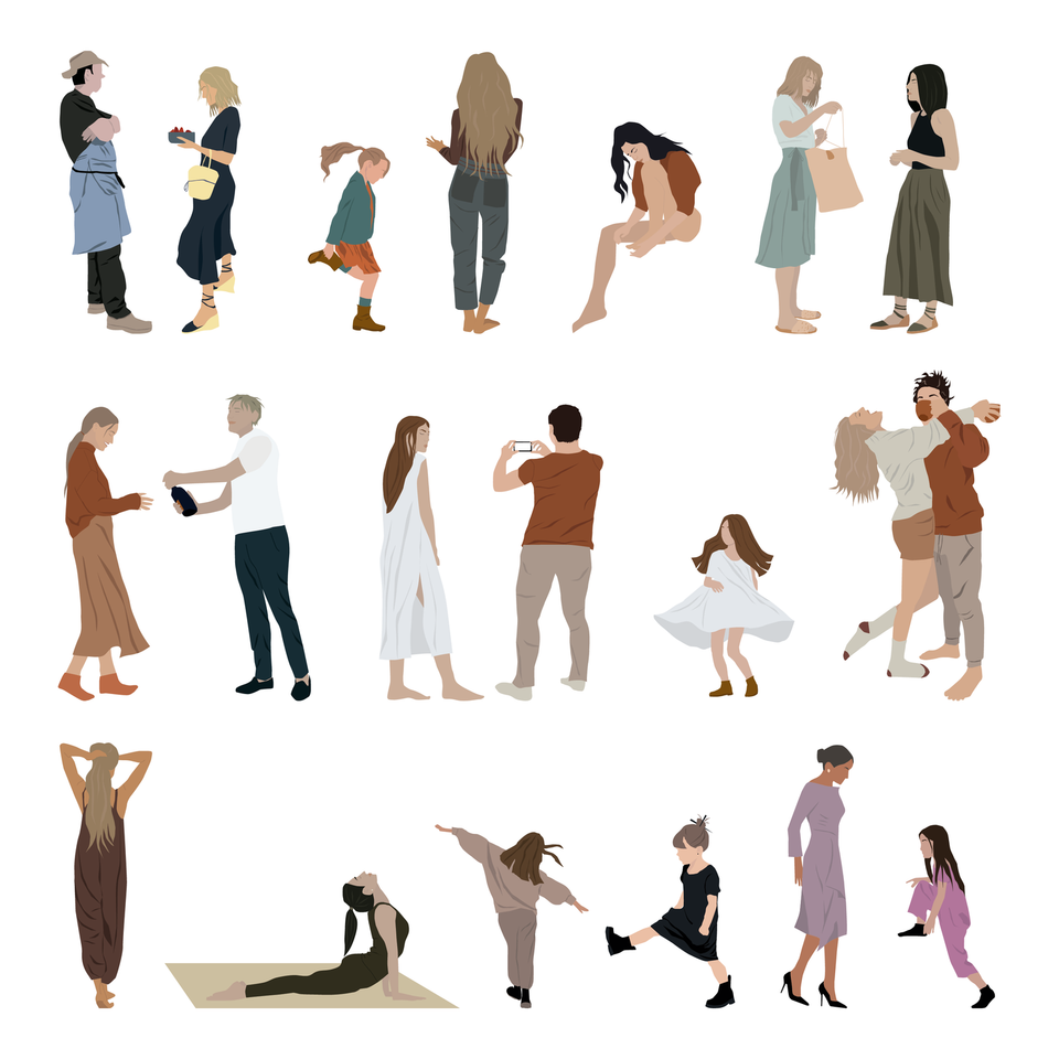 png vector people