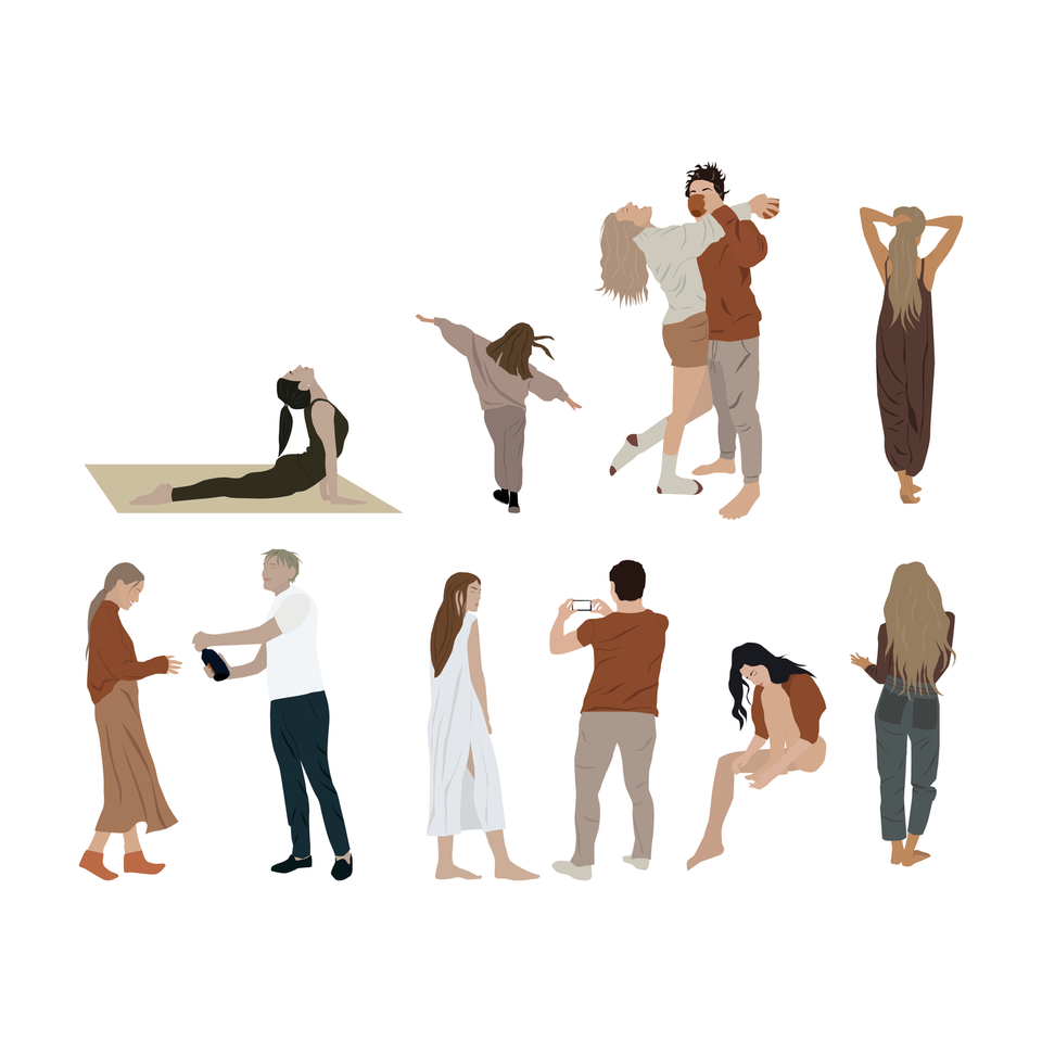people png vector