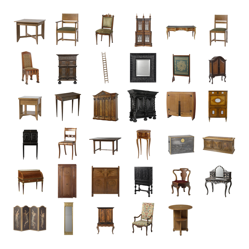 Furniture png cutouts