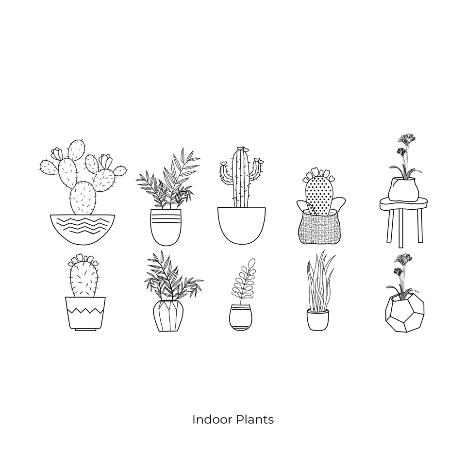 vector cad plants