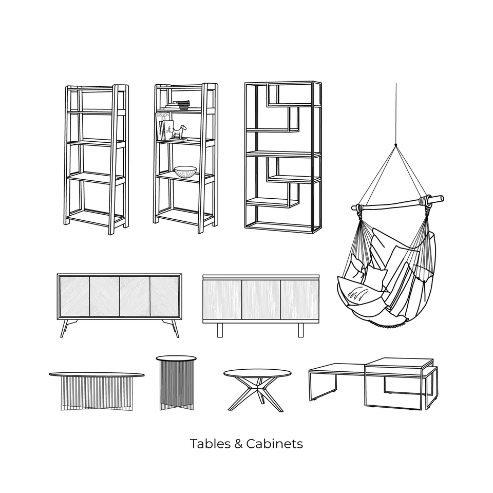 vector cad furniture