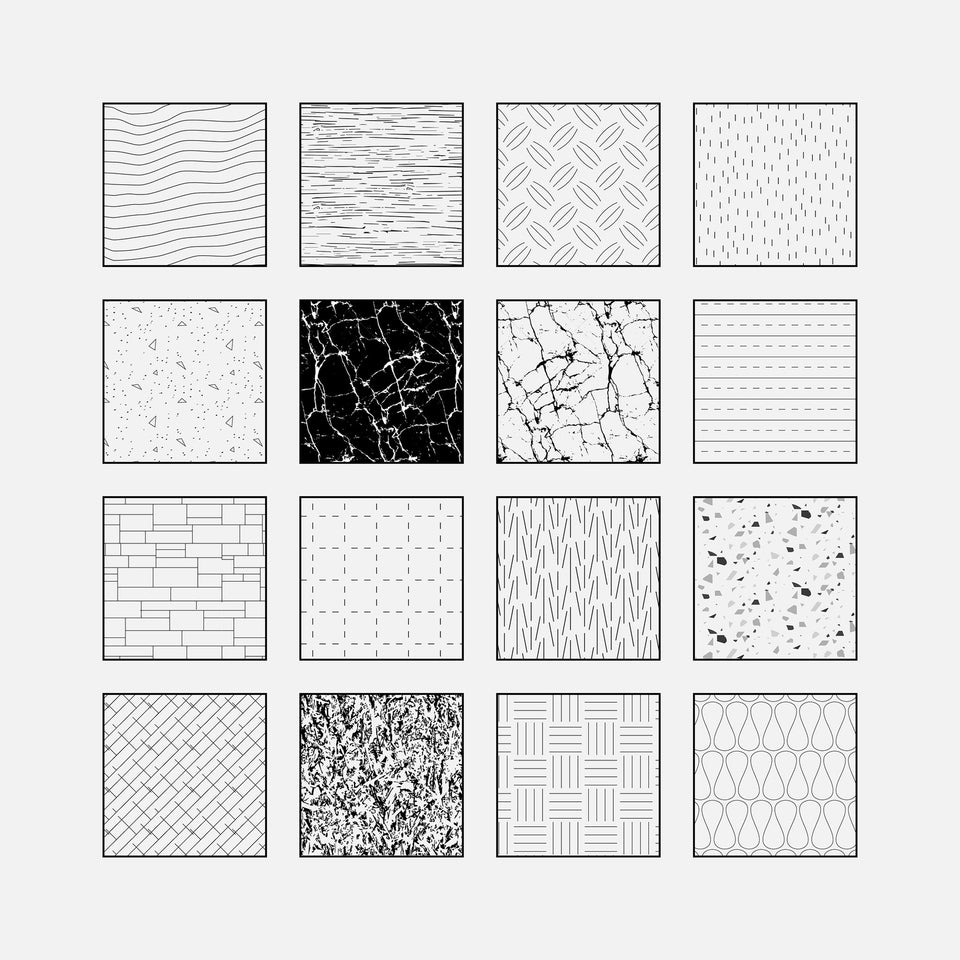 illustrator patterns materials