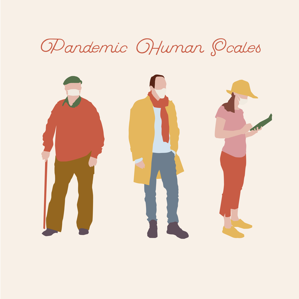 flat vector pandemic people