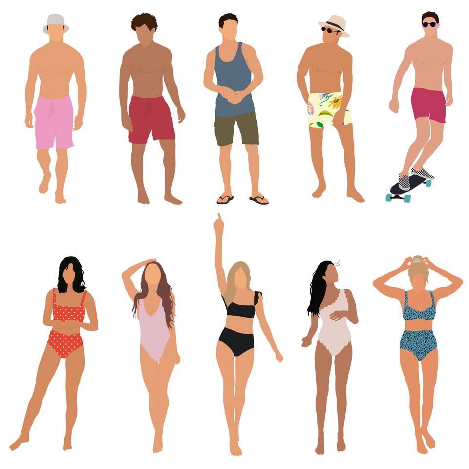 vector summer people