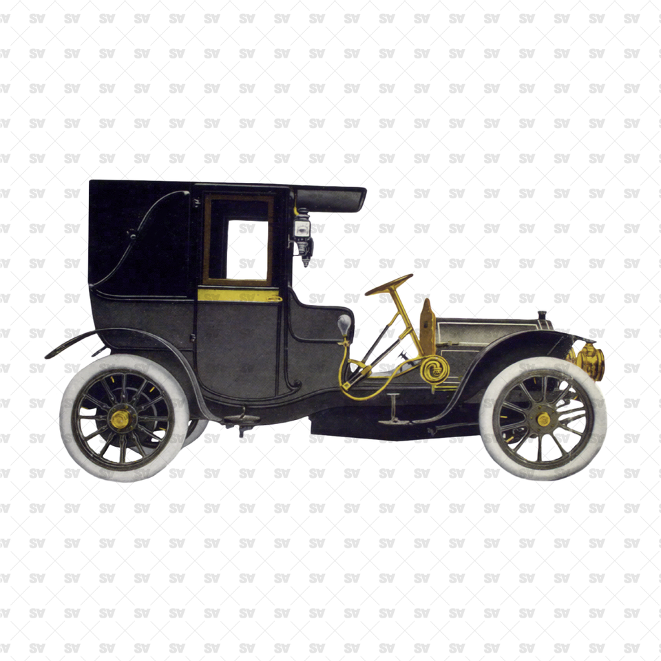 Cutout Vintage Cars - Private Transport Pack