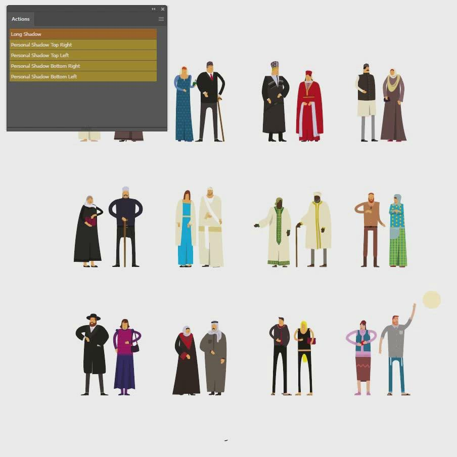 illustrator shadows