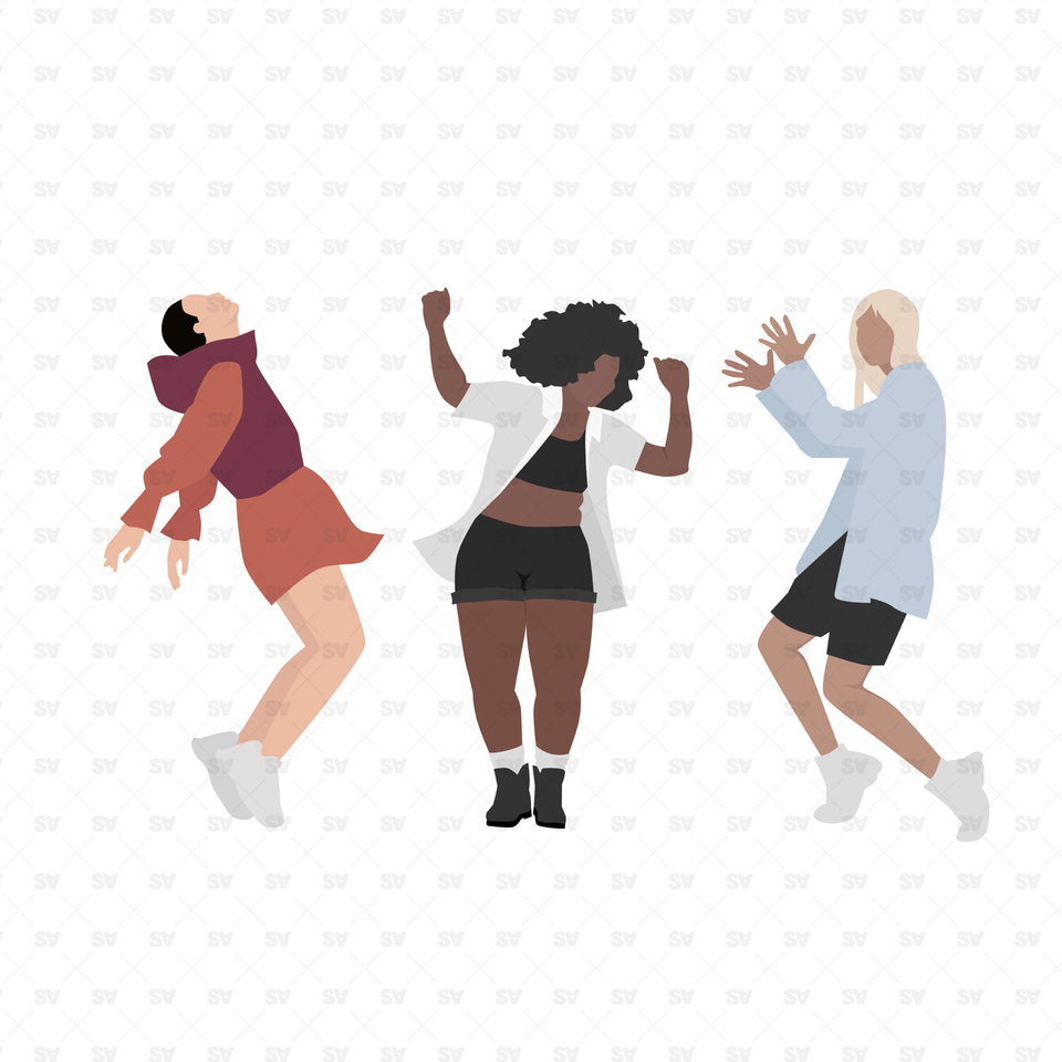 vector png dance illustrations
