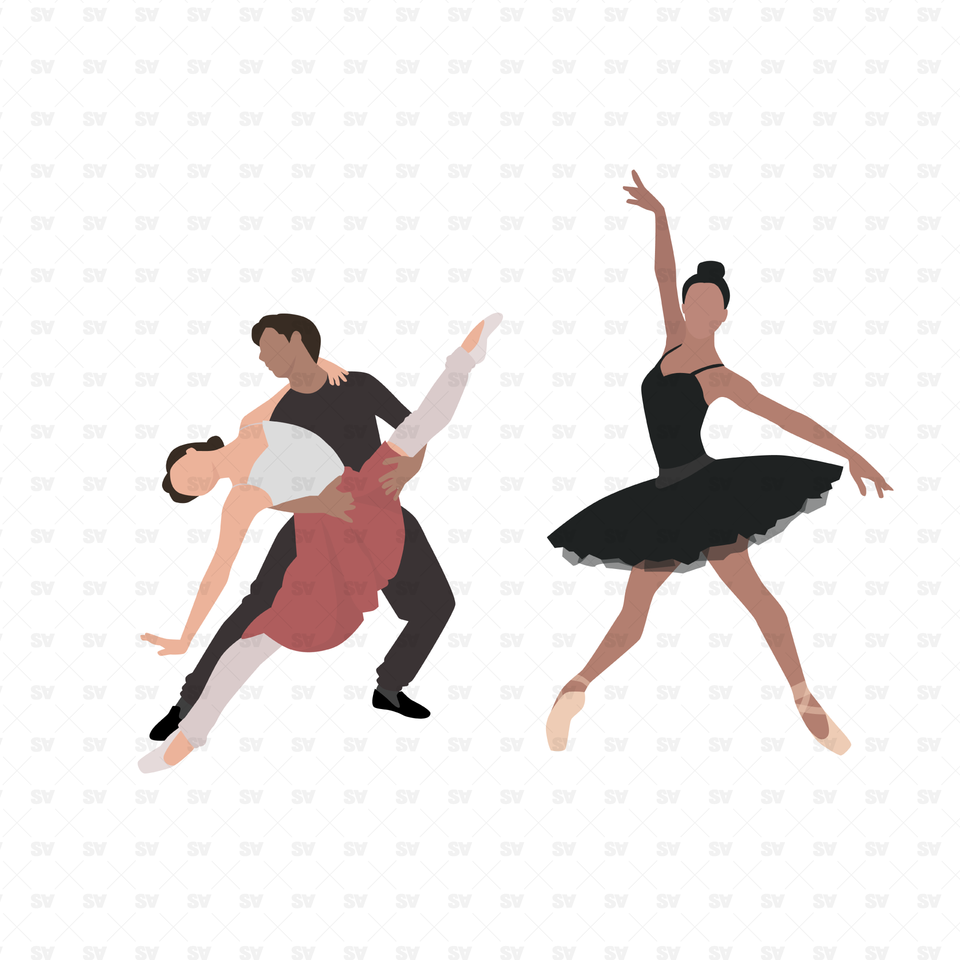 vector png dance illustrations ballet