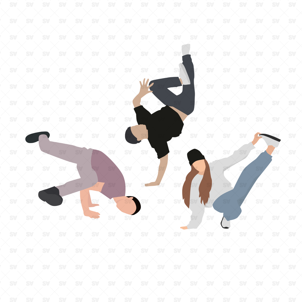 vector png dance illustrations hip hop