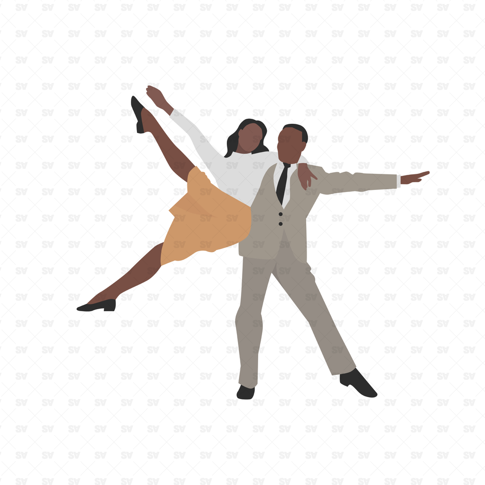 vector png dance illustrations couple