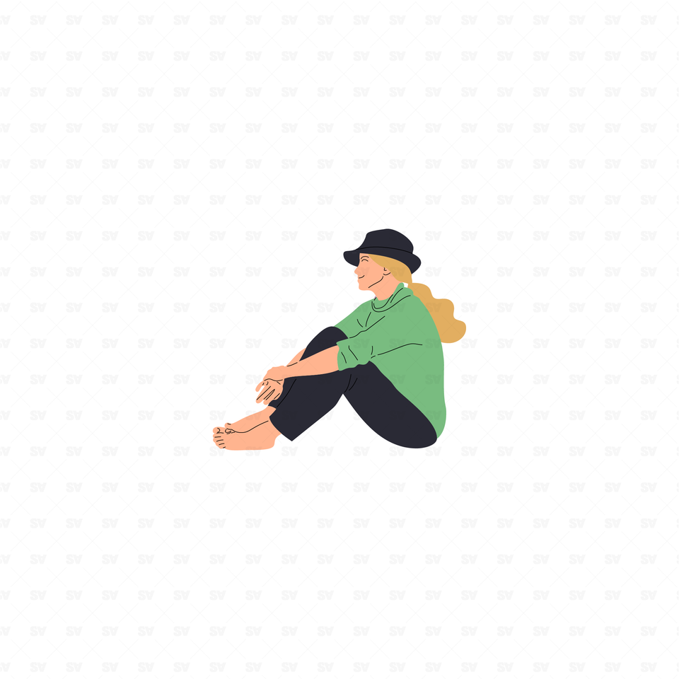 flat vector people illustrations