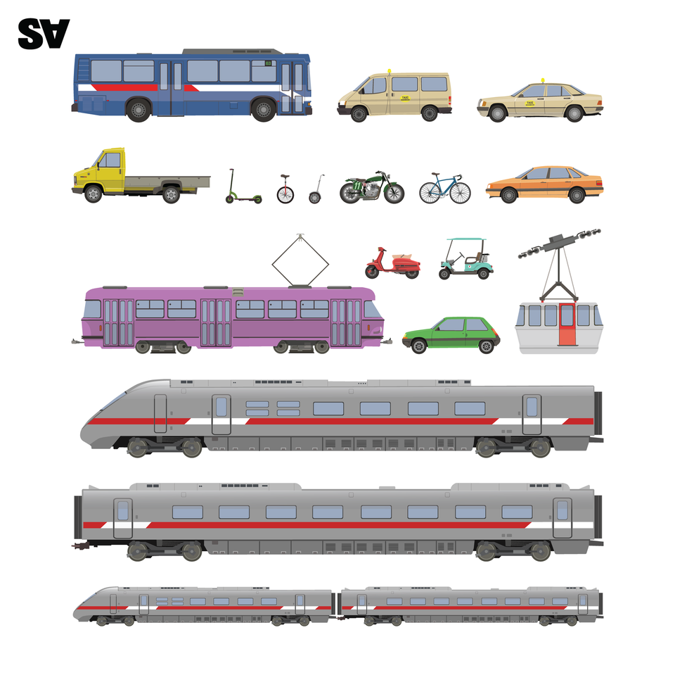 vector vehicles cars