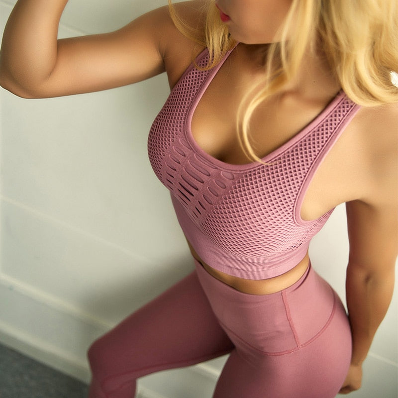 Seamless Sports Bra - Gym N Tonique