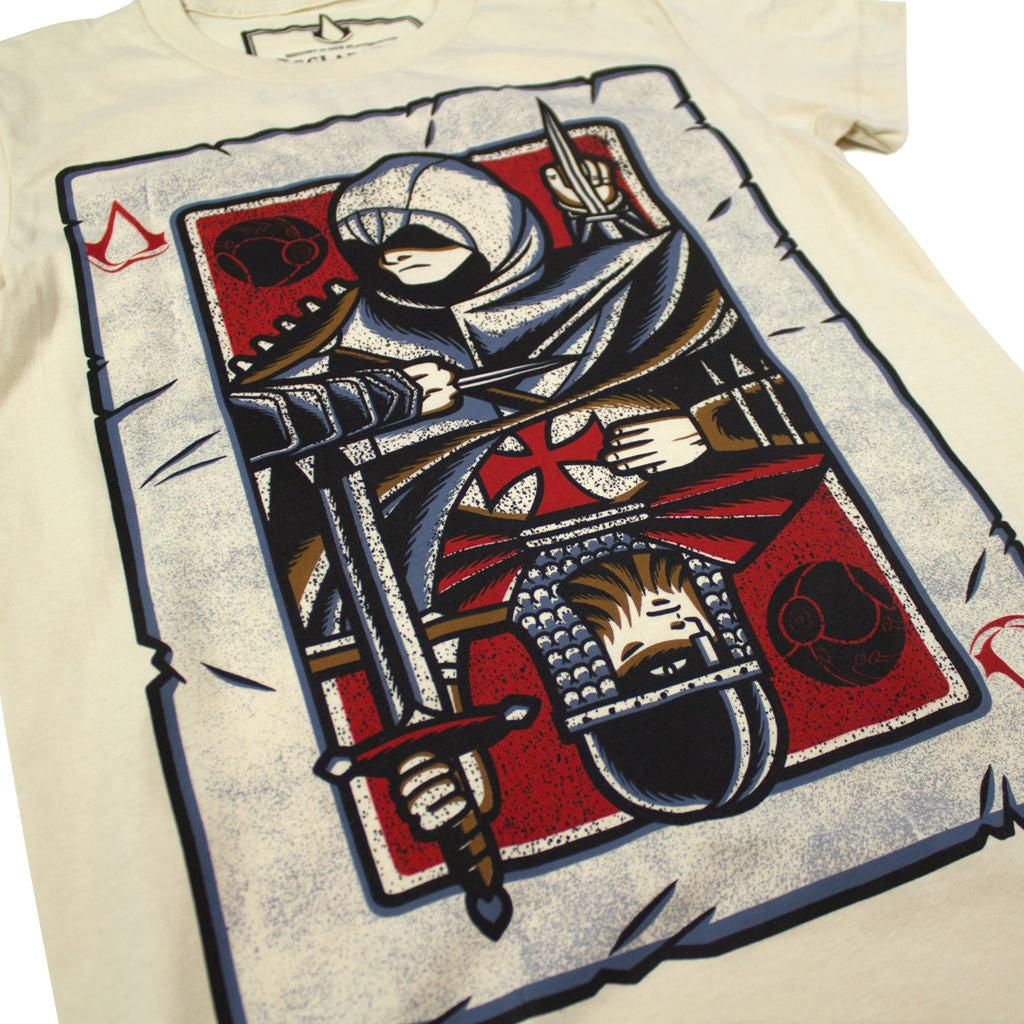 Altaïr's Playing Card Women's Cut - Declaration Clothing - 2