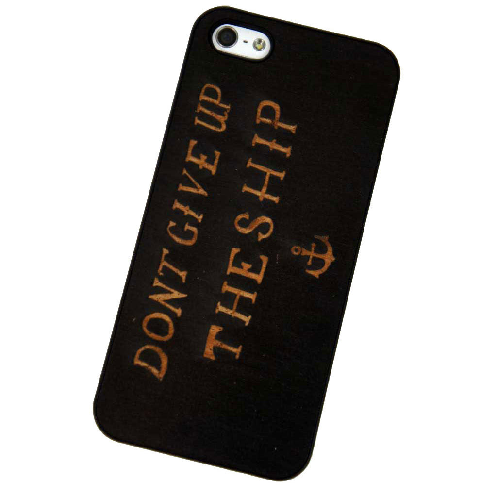 Don't Give Up The Ship iPhone 5/5S Snap Case - Declaration Clothing - 1