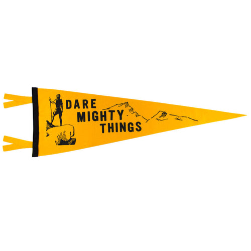 Dare Mighty Things Pennant - Declaration Clothing - 1