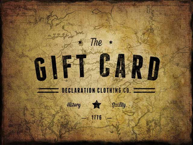 Gift Card - Declaration Clothing