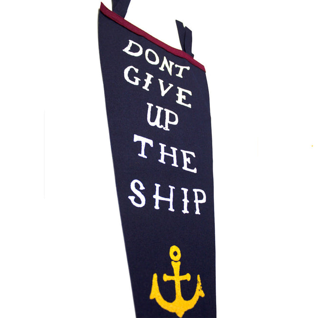 Don't Give Up The Ship Pennant - Declaration Clothing - 2