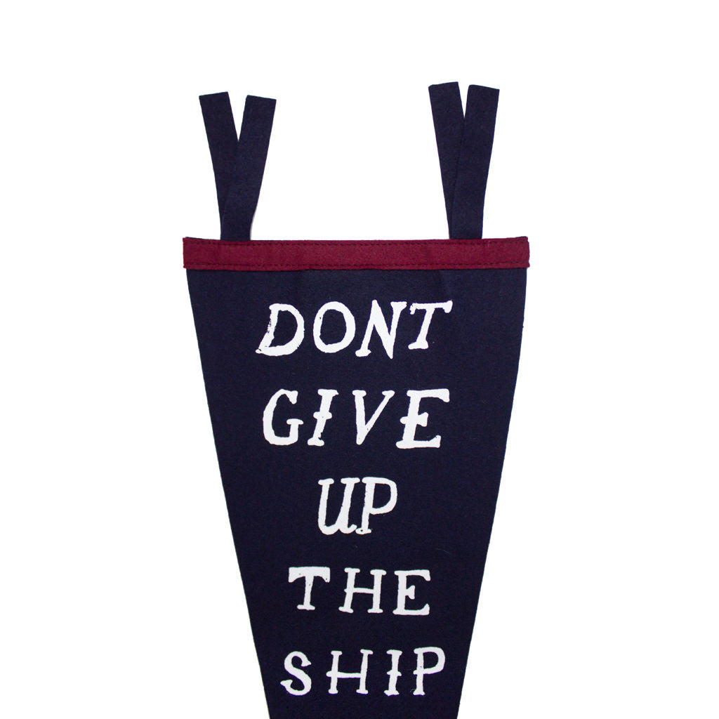 Don't Give Up The Ship Pennant - Declaration Clothing - 3