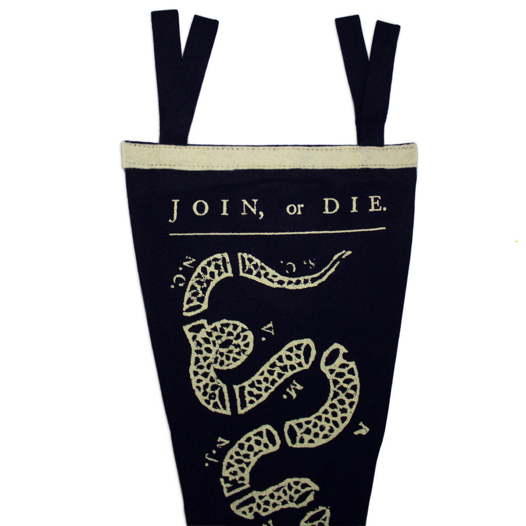 Join or Die Pennant - Declaration Clothing - 2