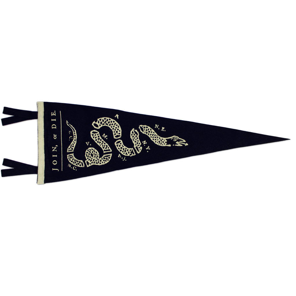 Join or Die Pennant - Declaration Clothing - 1