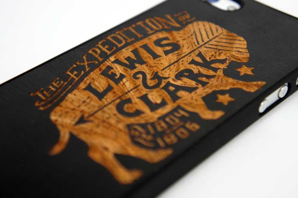 Lewis & Clark iPhone 5/5S Snap Case - Declaration Clothing - 2