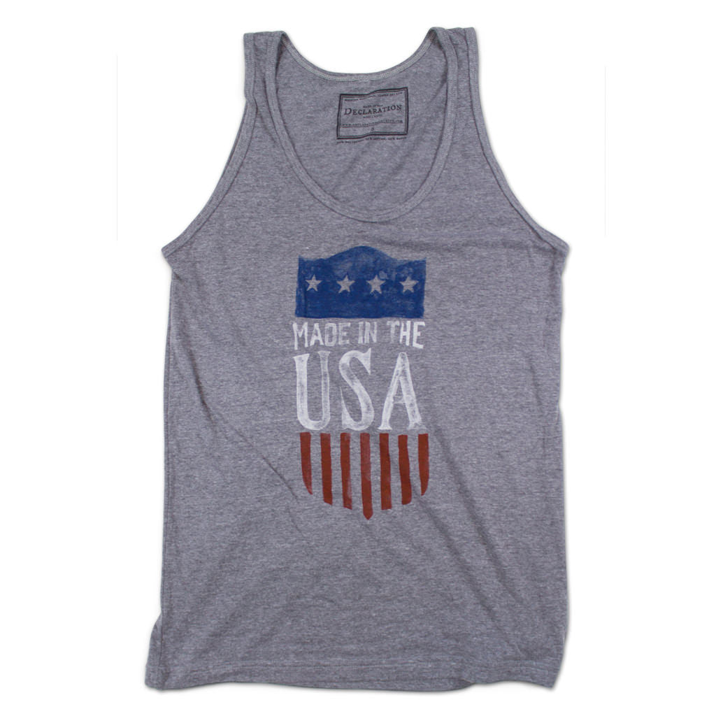 Made in USA Tank Top - Declaration Clothing - 1