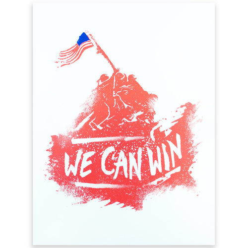 We Can Win Art Print - Declaration Clothing - 1