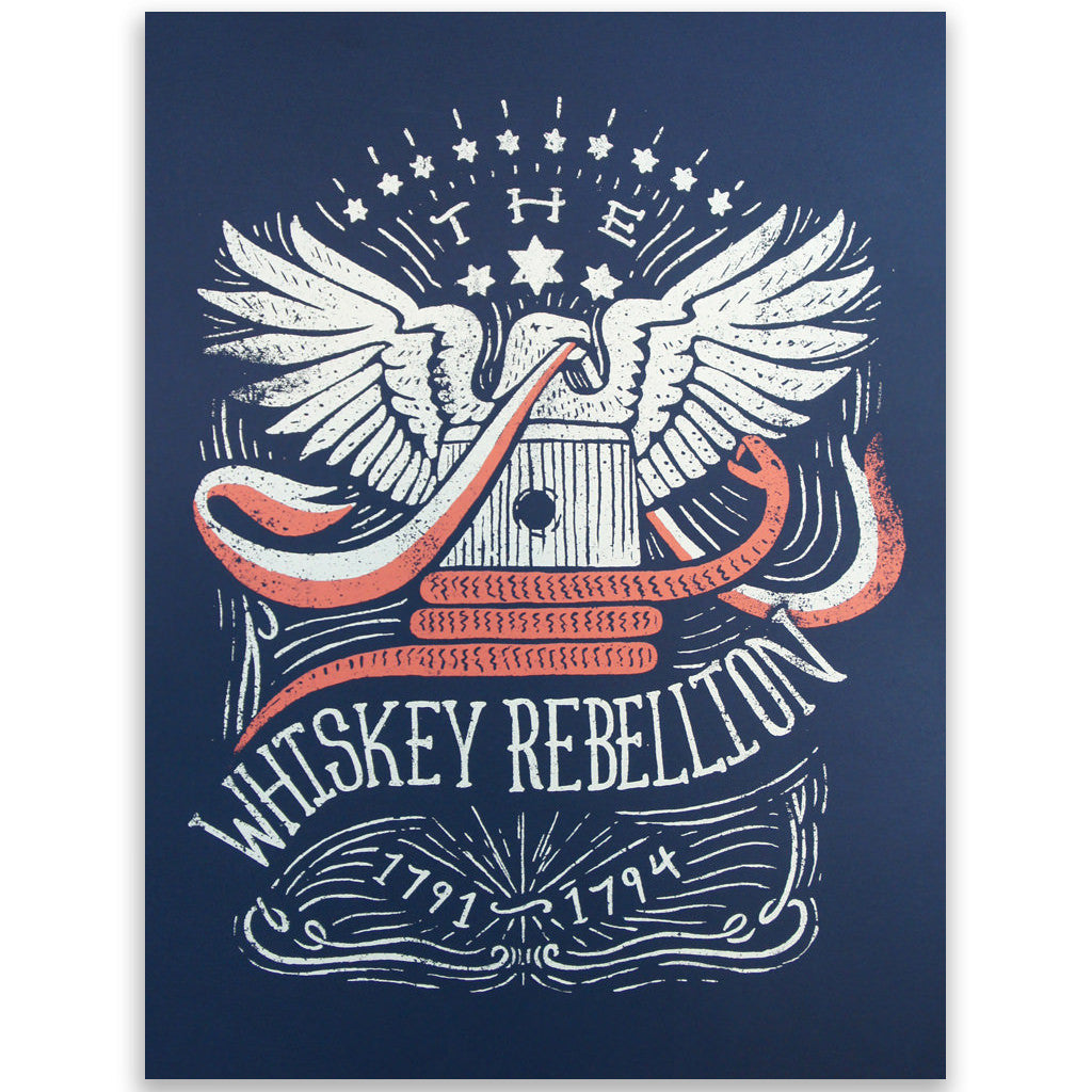 Whiskey Rebellion Art Print - Declaration Clothing - 1