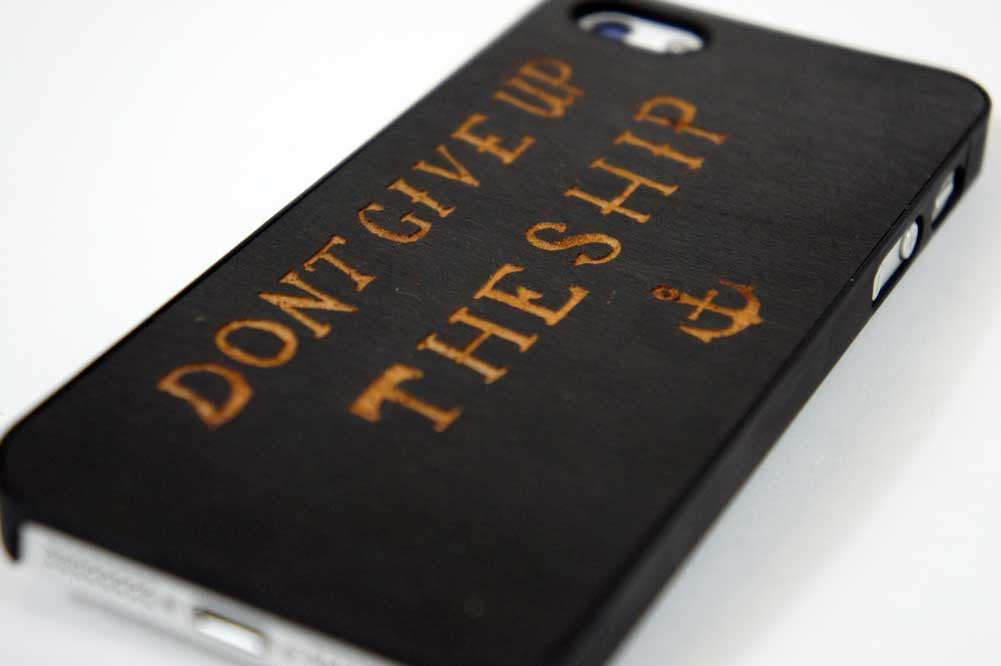 Don't Give Up The Ship iPhone 5/5S Snap Case - Declaration Clothing - 2