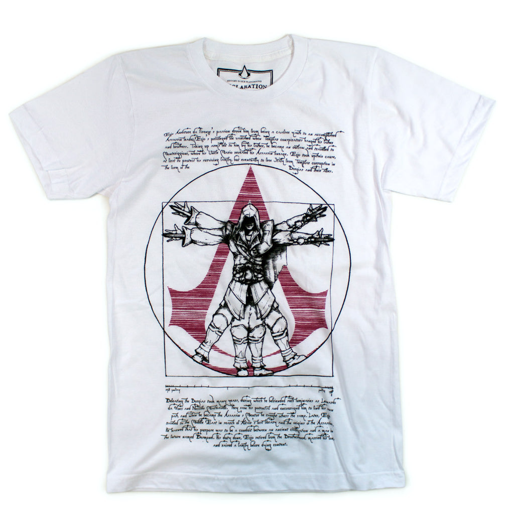 Ezio's Vitruvian Man - Declaration Clothing - 1