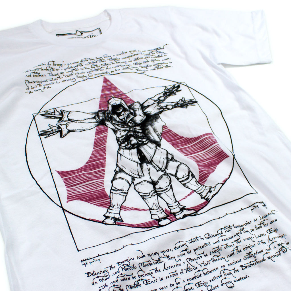 Ezio's Vitruvian Man - Declaration Clothing - 2