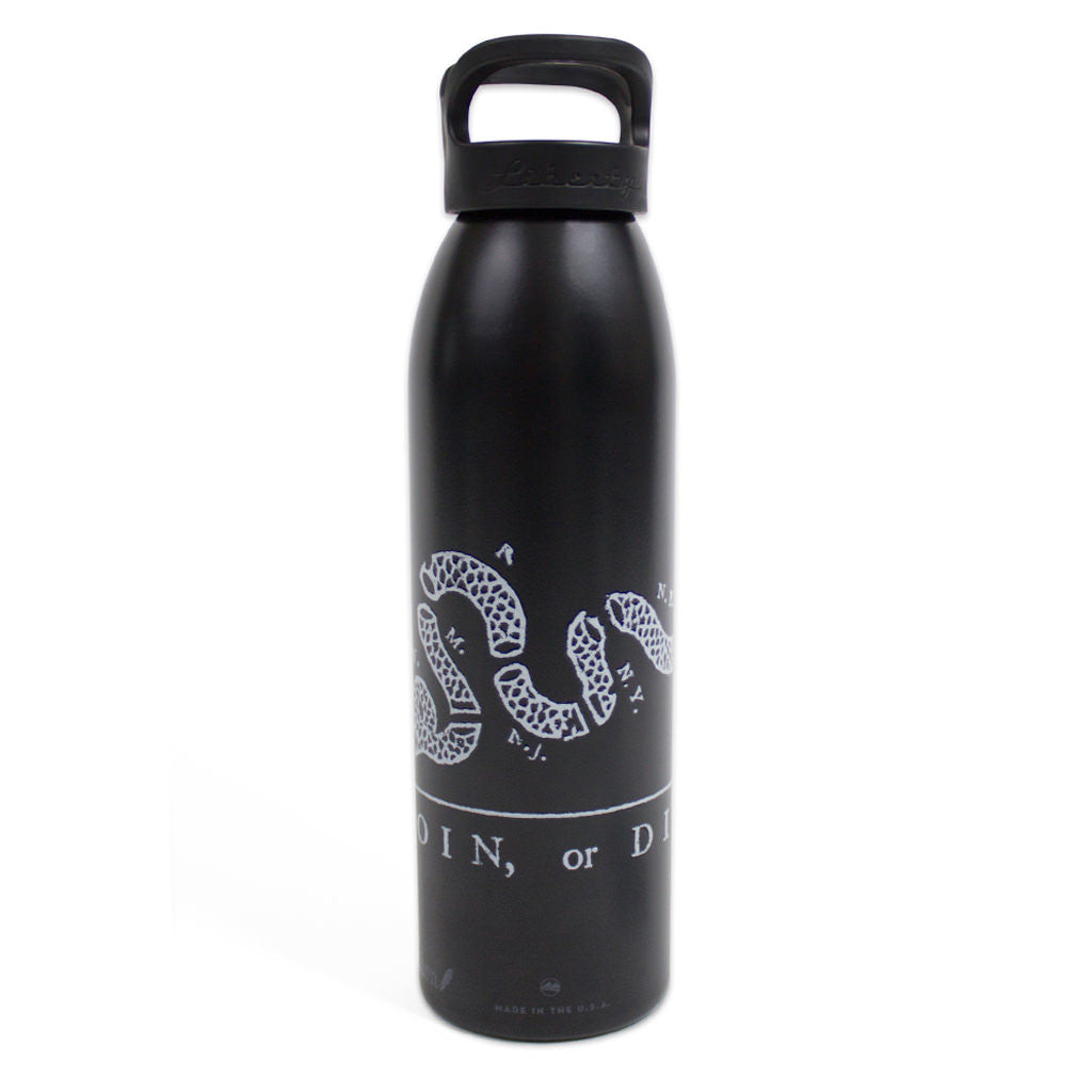 Join or Die Water Bottle - Declaration Clothing - 1