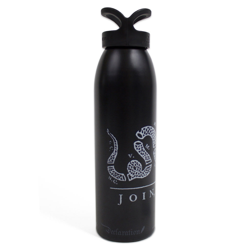 Join or Die Water Bottle - Declaration Clothing - 2
