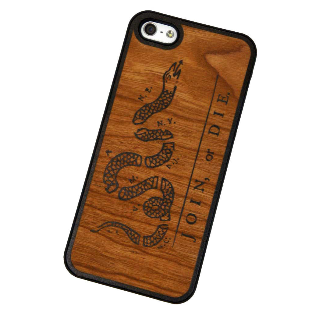 Join or Die iPhone 5/5S Snap Case - Declaration Clothing - 1