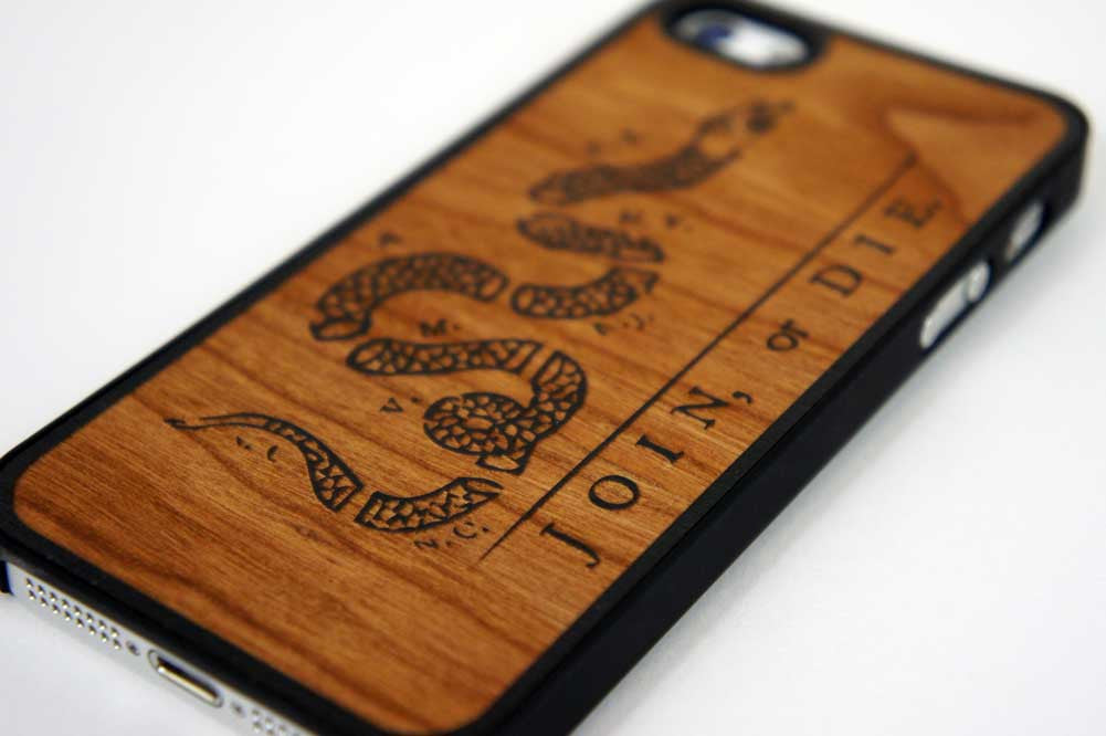 Join or Die iPhone 5/5S Snap Case - Declaration Clothing - 2