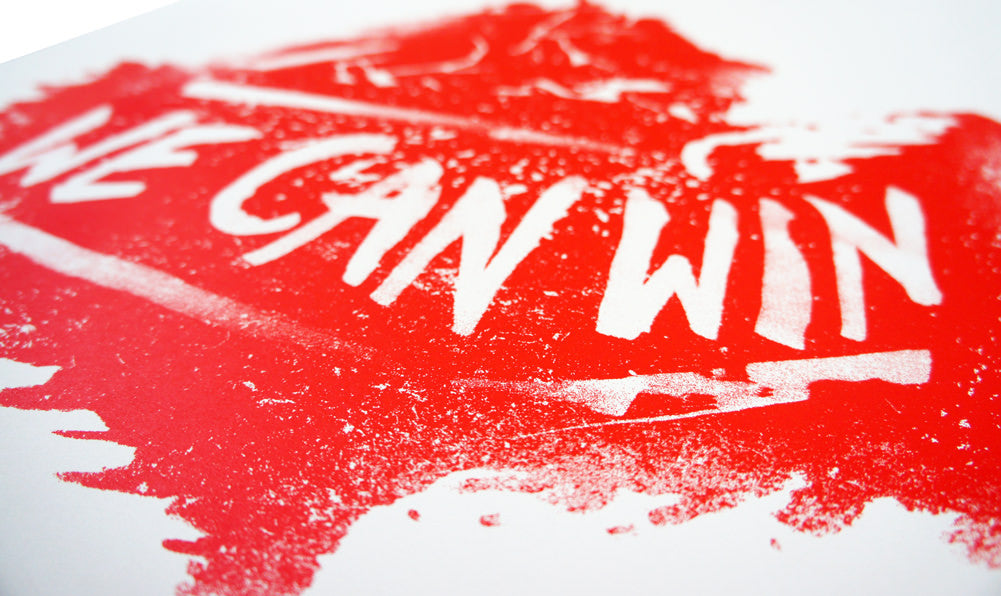 We Can Win Art Print - Declaration Clothing - 2