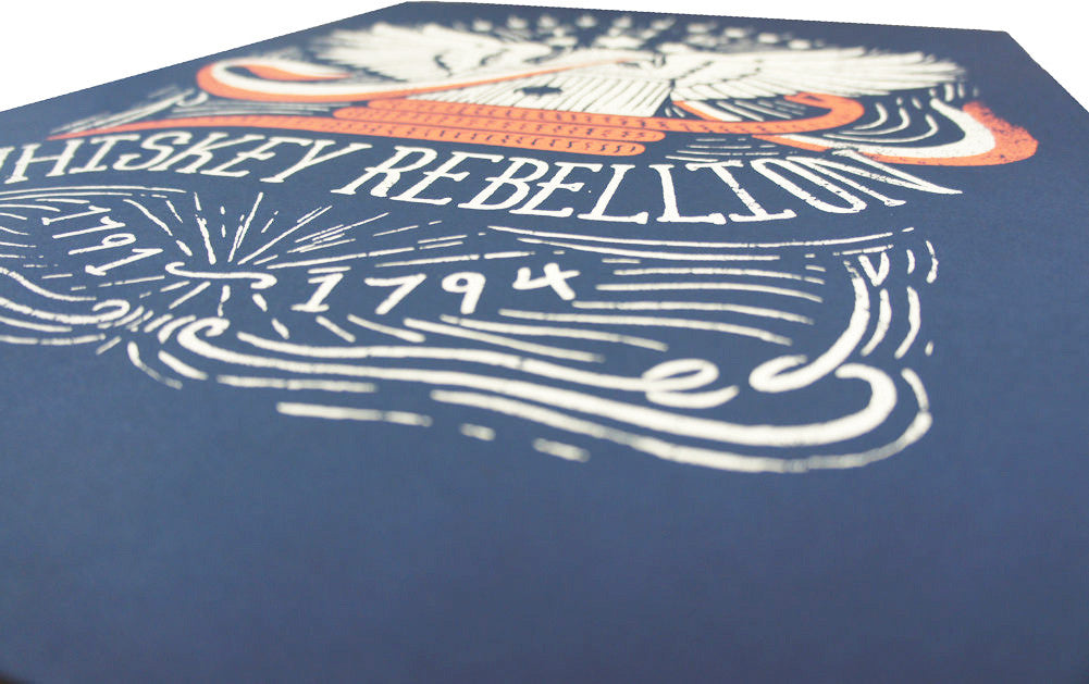 Whiskey Rebellion Art Print - Declaration Clothing - 2