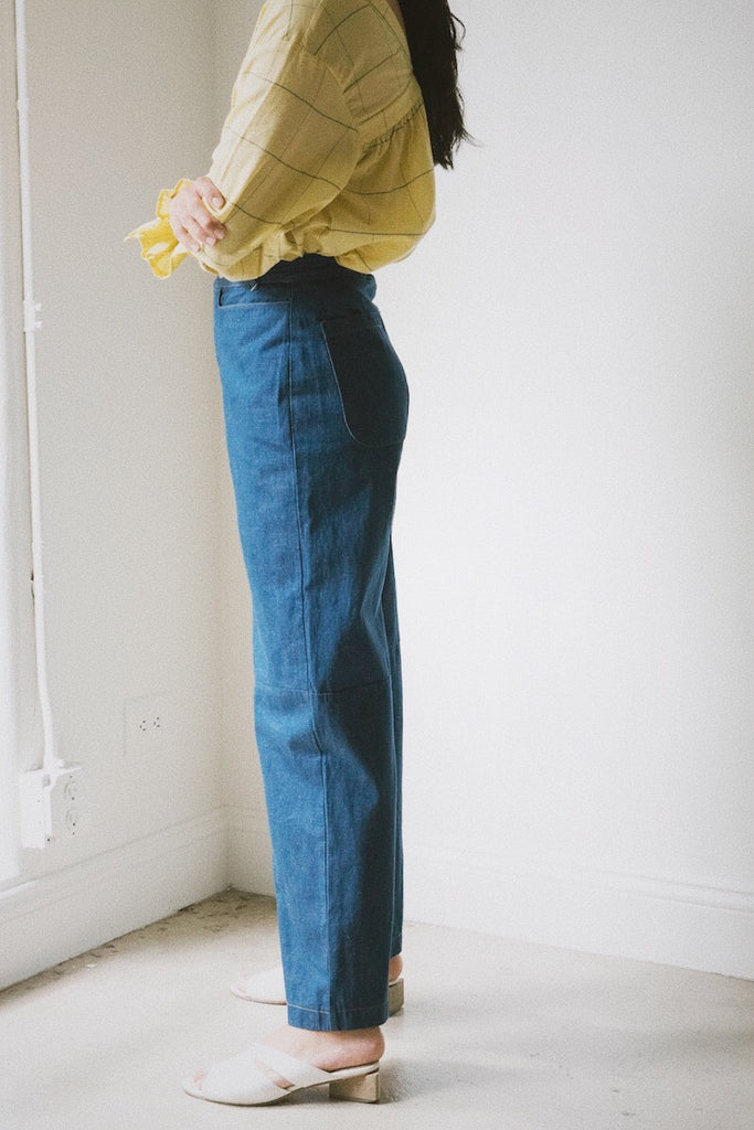 jessie pant in oceanic denim