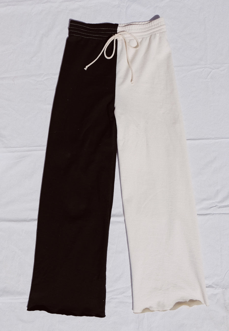 sabi two tone sweatpant