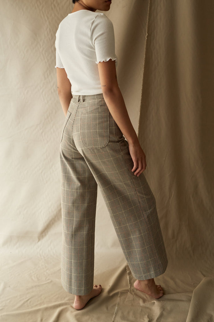ollie pant in cocina plaid