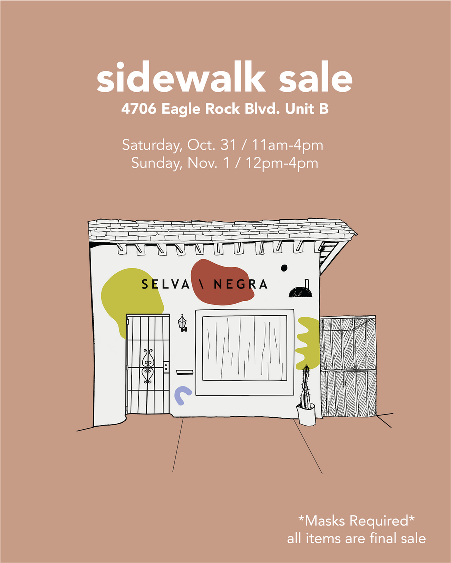 SAMPLE- SIDEWALK SALE