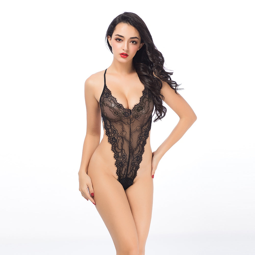 Body Set mit Rock 6950 - organza-lingerie